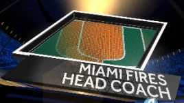Miami fires head coach after suffering a 58-0 loss to Clemson.