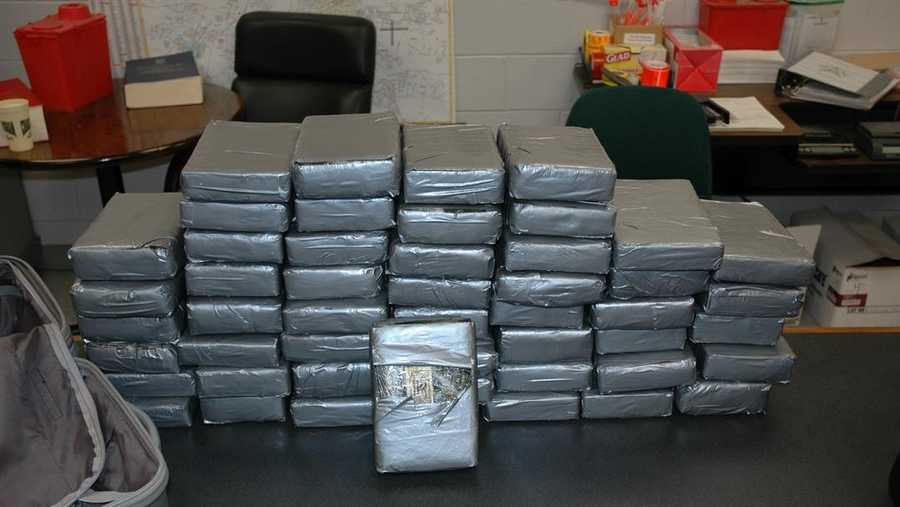 125 pounds of seized cocaine in Florence County