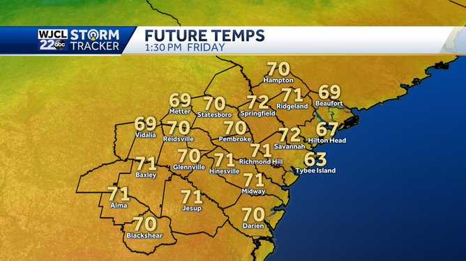 Highs returns to the 70s