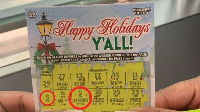 Scratch-off win