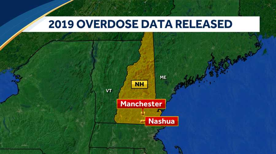 Officials have released overdose data for 2019.