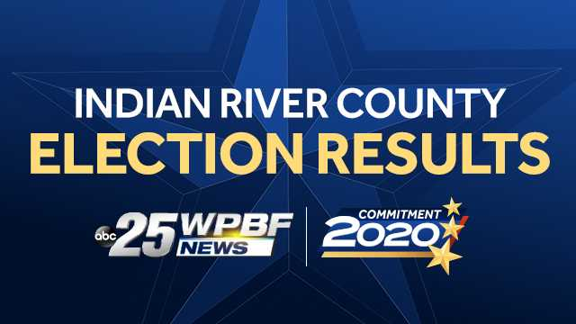 Here's a look at the latest election results for Indian River County.