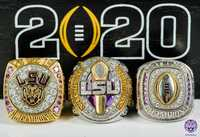 LSU Football Rings