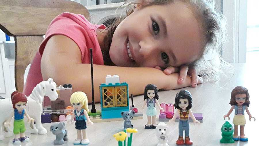 """Ginny Perryman is a huge Lego fan and would LOVE a family trip to LegoLand!"" This is one of the latest entries in WJCL's LegoLand contest, happening now."