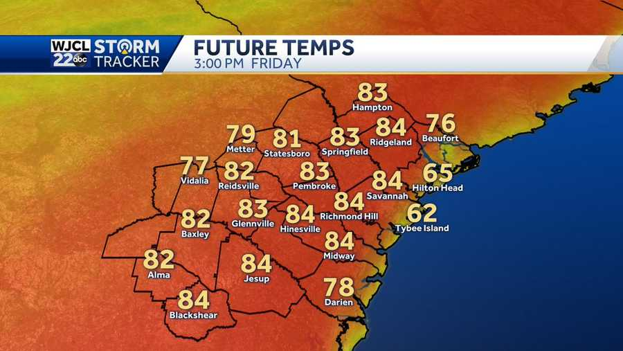 Warmer weather on the way for Friday