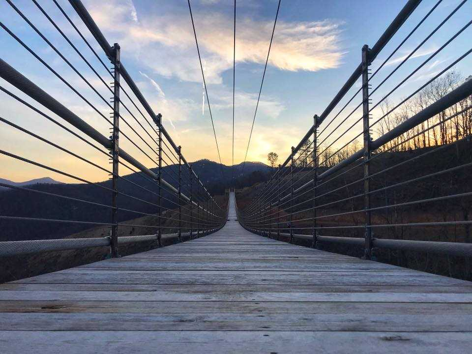 The longest pedestrian suspension bridge in the US opens in Tennessee on May 17