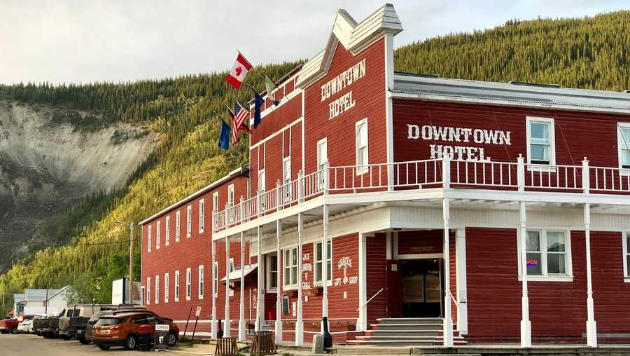 Downtown Hotel in Canada