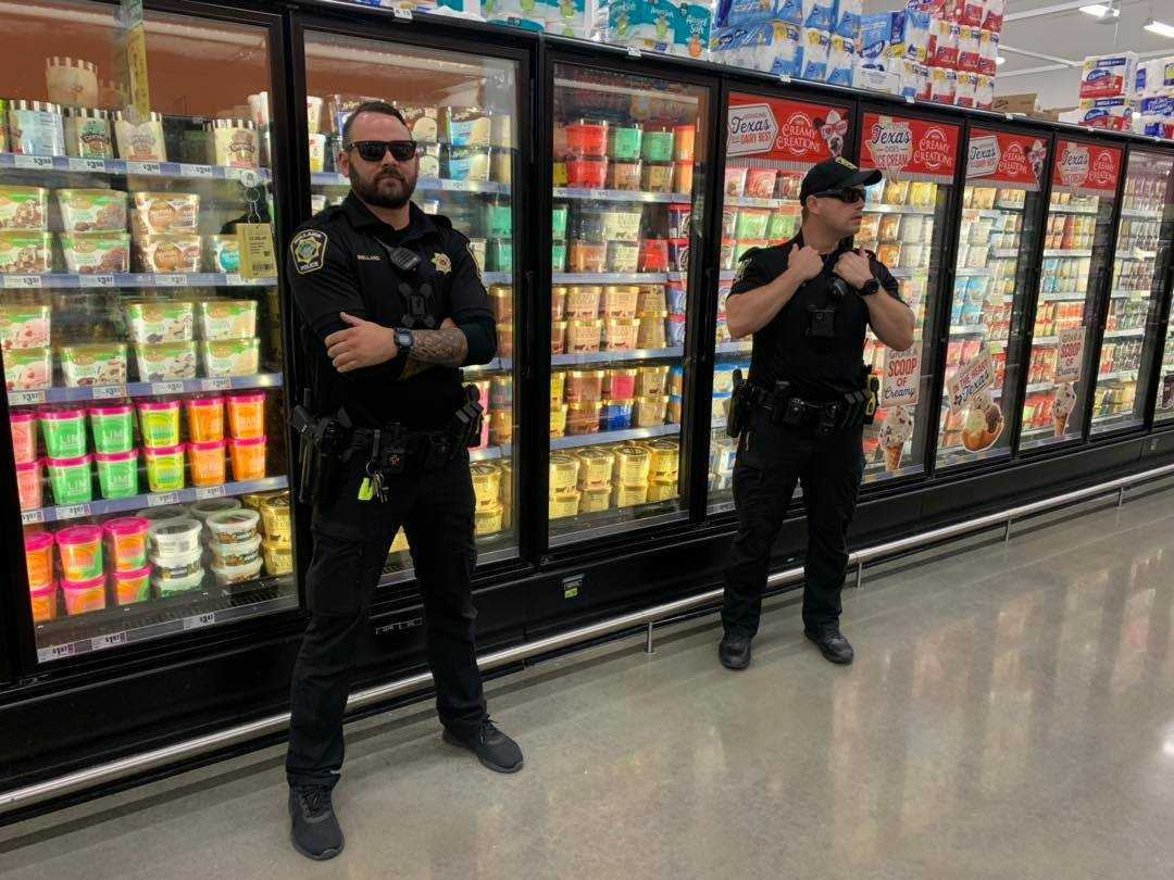 'Ain't nobody licking our Blue Bell!': Officers guard ice cream following licking incident thumbnail