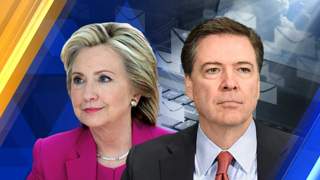 Hillary Clinton, James Comey