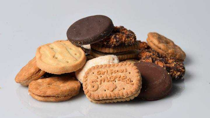 Police earn of 'highly addictive' substance: Girl Scouts cookies