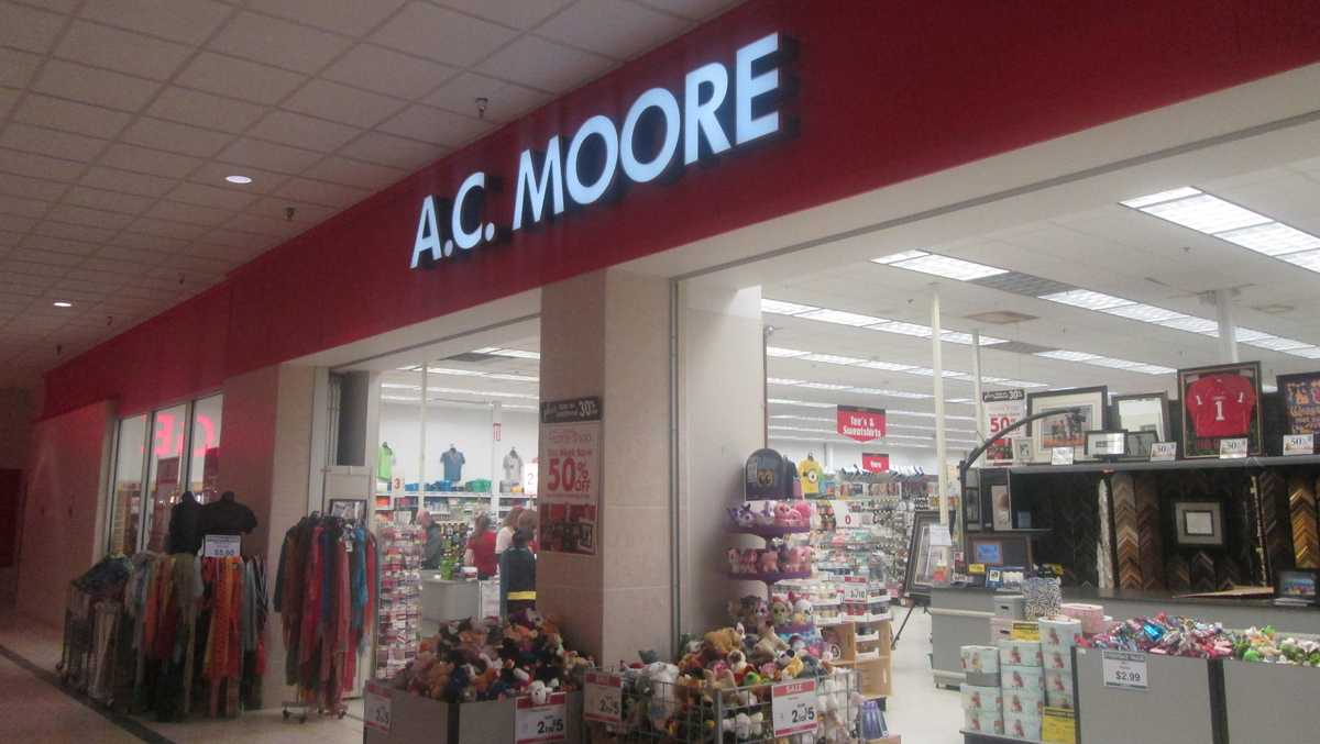 A.C. Moore to close its remaining stores; some set to return as Michaels