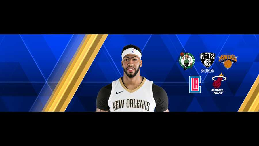 71105dda50f Exploring trades for Anthony Davis  Brooklyn Nets (part 2 in a 5 ...