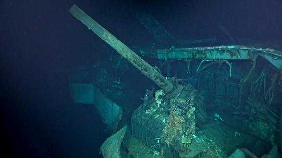 The wreckage of the USS Hornet has been found near the Solomon Islands 76 years after the aircraft carrier was sunk during a World War II naval battle.