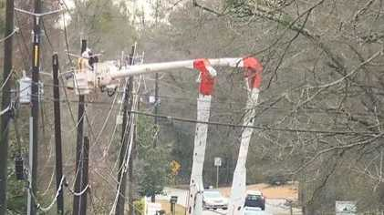 Alabama Power crew