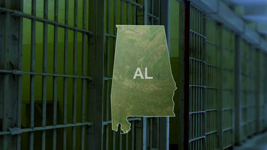 Alabama and prison cells