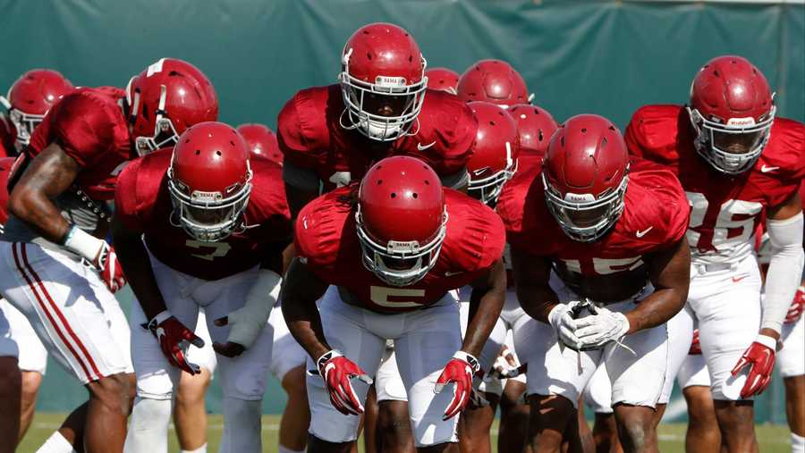 Alabama spring football