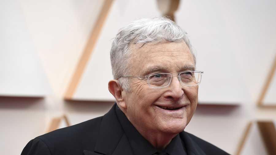 Randy Newman arrives at the Oscars on Sunday, Feb. 9, 2020, at the Dolby Theatre in Los Angeles.