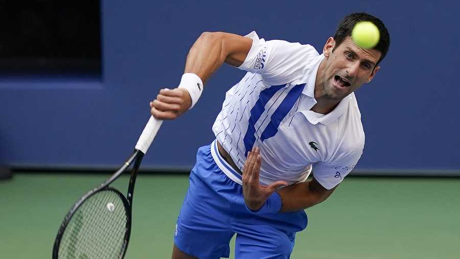 Djokovic Out Of Us Open After Hitting Line Judge With Tennis Ball