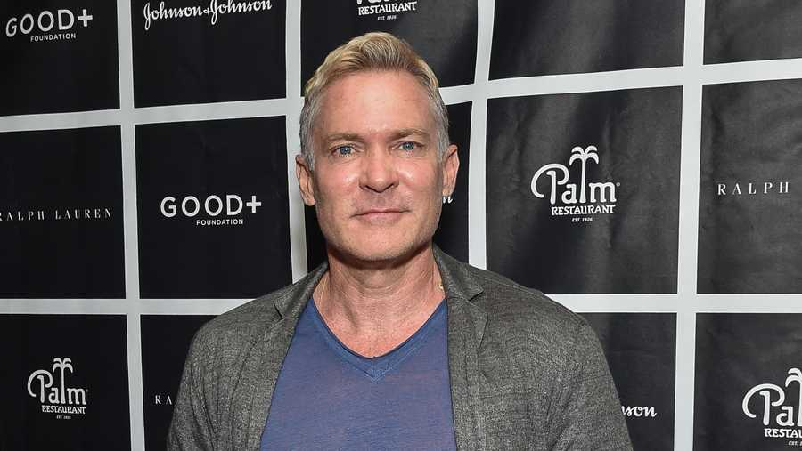 Sam Champion attends the New York Fatherhood Lunch to benefit the Good+ Foundation at The Palm Tribeca on Tuesday, Oct. 18, 2016, in New York.
