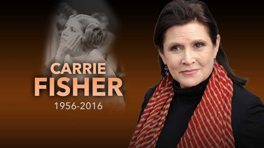 Fisher passed away on Dec. 27.