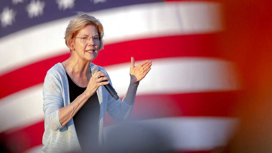 Democratic presidential candidate Elizabeth Warren, D-Mass., speaks during a rally on Tuesday, Sept. 10, 2019, in Austin, Texas.