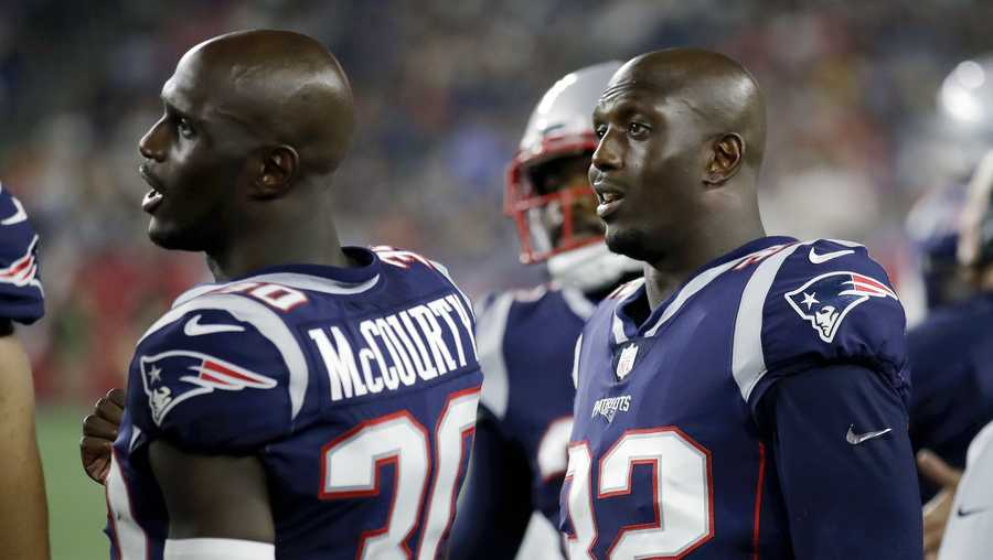 buy popular c85ad 233ca Patriots' playoff run special for McCourty twins