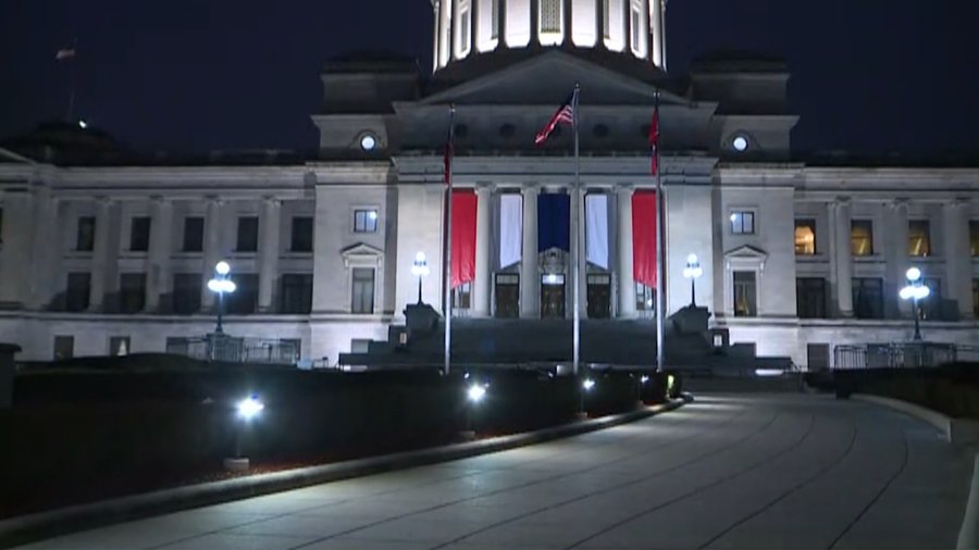 Arkansas State Capitol ahead of the 2019 General Assembly