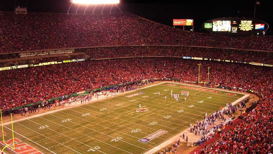 FILE image of Arrowhead Stadium