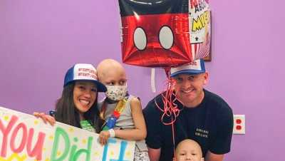 Doctors at Children's Hospital Los Angeles say Kalea and Noah were diagnosed with the same brain cancer, in the same location, at the same time.