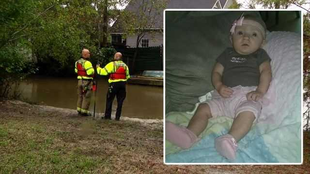 Baby Grace's body found in river