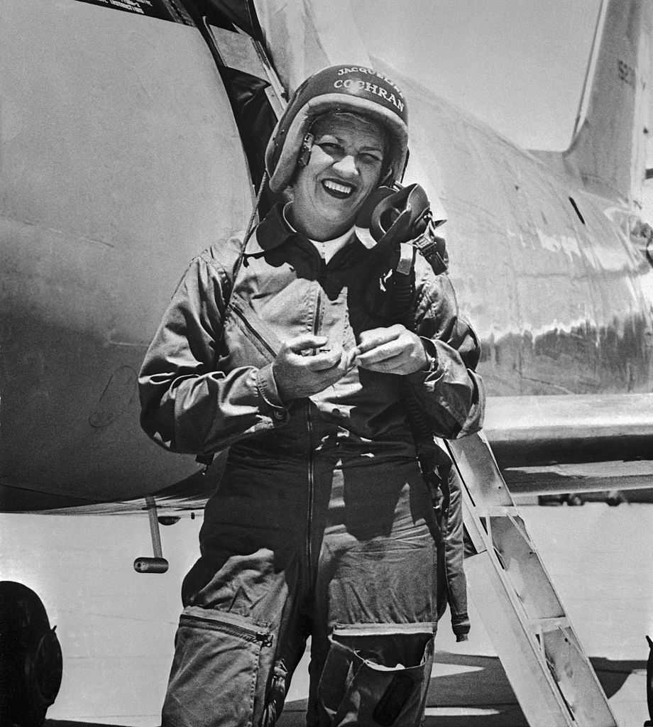 Today in history for May 18: 1st female pilot breaks sound barrier thumbnail