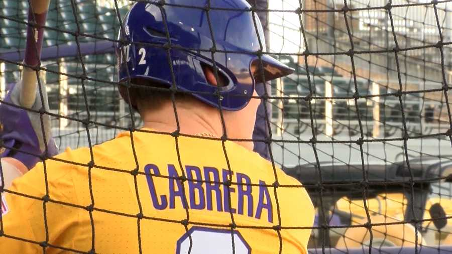 LSU outfielder Daniel Cabrera selected on day two of MLB Draft by Detroit Tigers