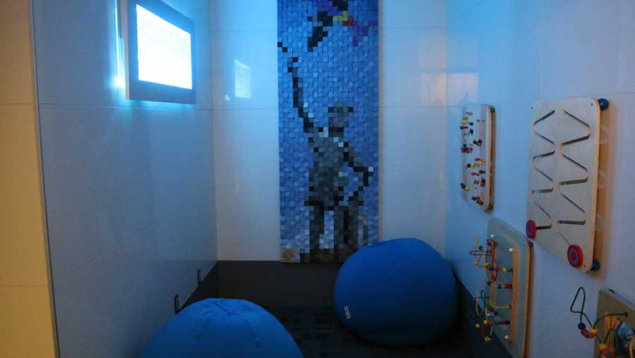 Sensory Room unveiled at Birmingham's airport