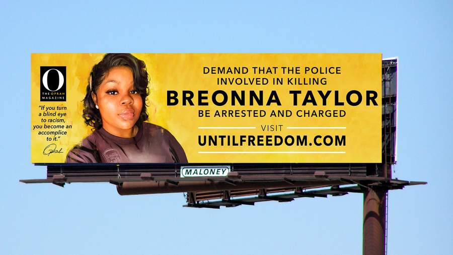 Billboard of Breonna Taylor goes up in Louisville