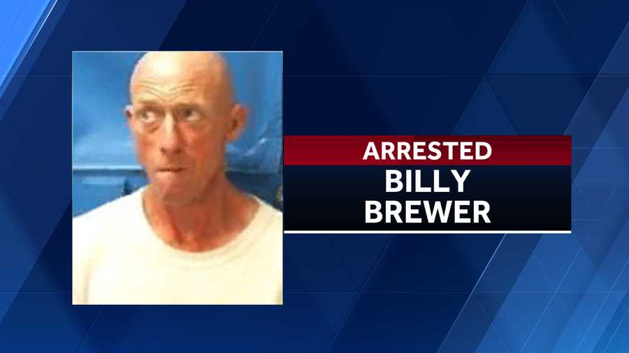 Billy Brewer was arrested on January 19, 2020.