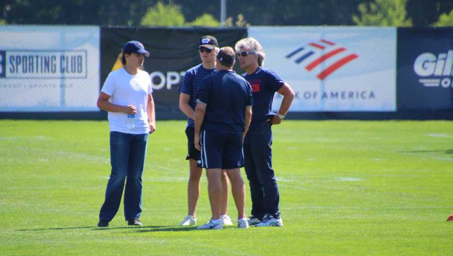 Bon Jovi at Patriots camp 2019