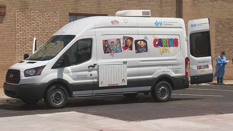 caring vans offer free covid 19 testing