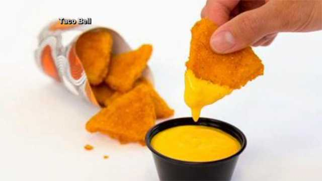 Taco Bell naked chicken chips