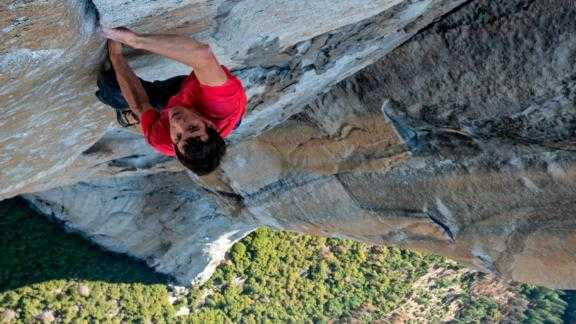 Alex Honnold was the first man to ever scale El Capitan without ropes. Now, his achievement is featured in an Oscar-nominated documentary.