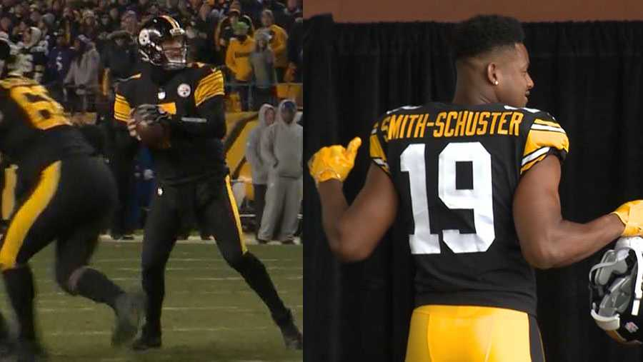 finest selection 0eed0 58304 PITTSBURGH STEELERS: 2019 dates for Color Rush and throwback ...