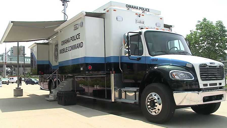 Douglas County approved $1.8 million in CARES Act cash to buy the sheriff a mobile command center like this one used by Omaha police