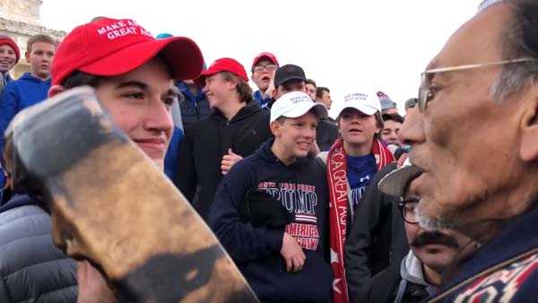 A Catholic high school in northern Kentucky is facing severe backlash after videos went viral showing students allegedly mocking Native Americans at a rally in Washington.