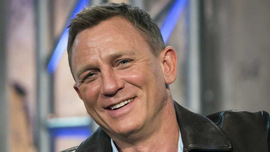 "In this Nov. 5, 2015 file photo, Daniel Craig participates in AOL's BUILD Speakers Series to discuss the James Bond film ""Spectre"", at AOL Studios in New York."