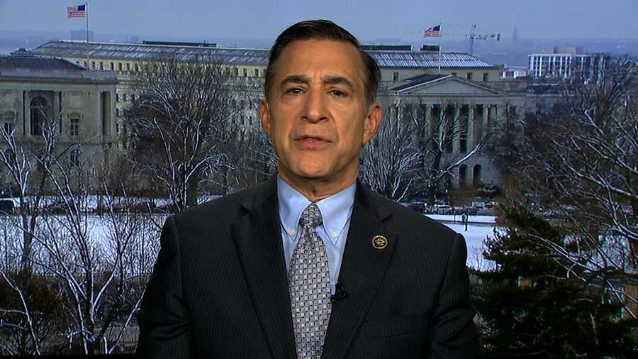 Rep.Darrell Issa says investigation into reported communications between Trump and Russia will need a special prosecutor.