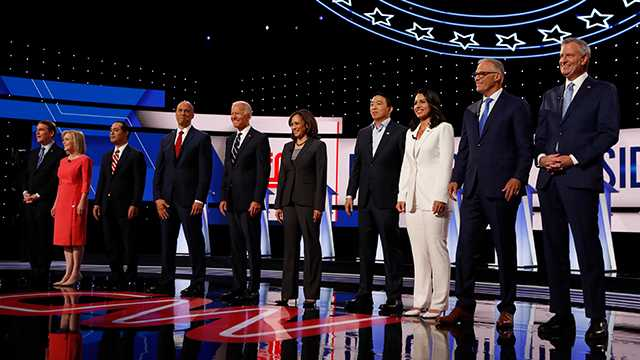 Eight candidates have qualified for the third debate in September.