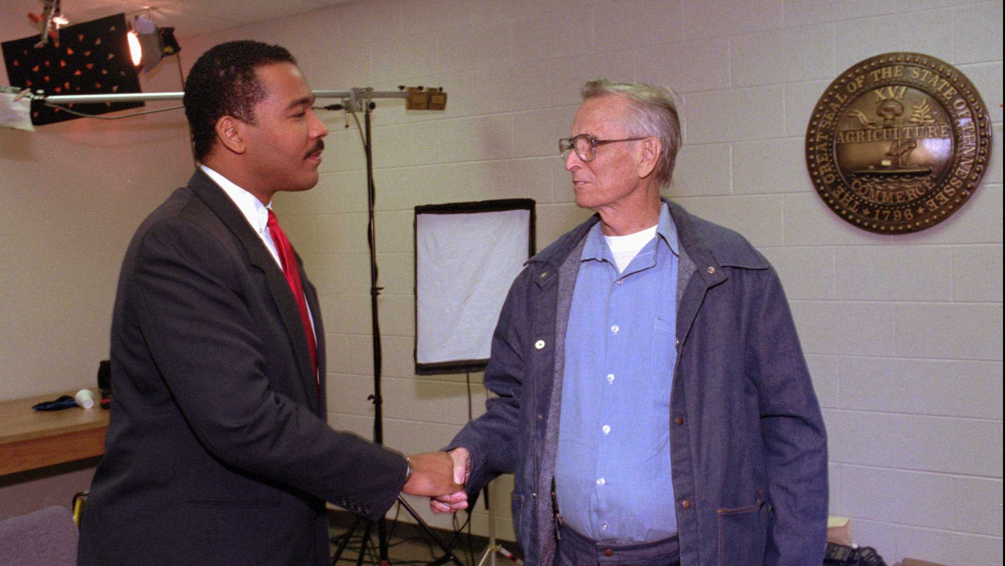 Today in History for March 27: MLK's son meets his father's convicted killer