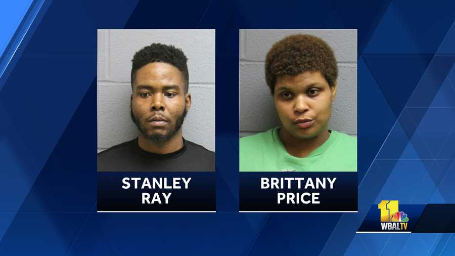Stanley Ray, Brittany Price both charged in an incident where a Carroll County Sheriff's deputy was dragged about 50 yards.