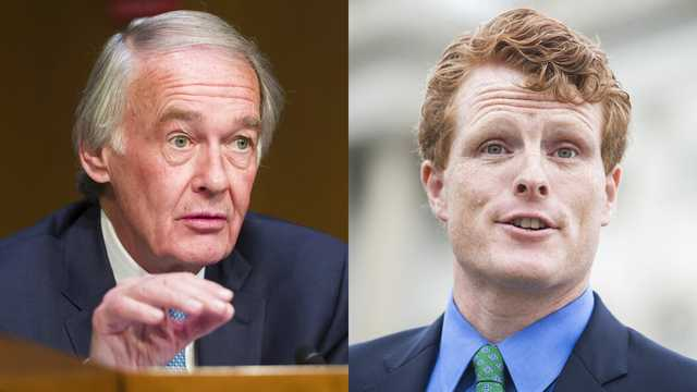 Sen. Ed Markey responds to Rep. Joe Kennedy III's challenge by calling for climate change debate