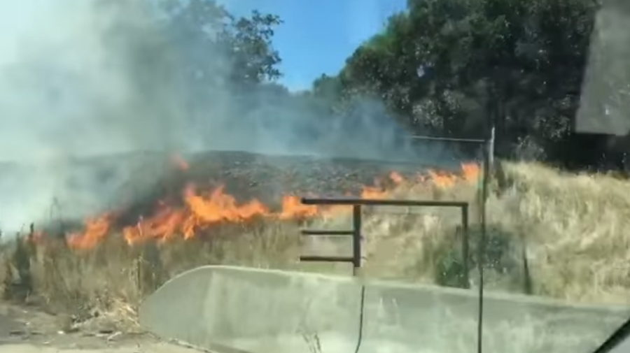 A fire in Santa Clara County has been contained according to Cal Fire.