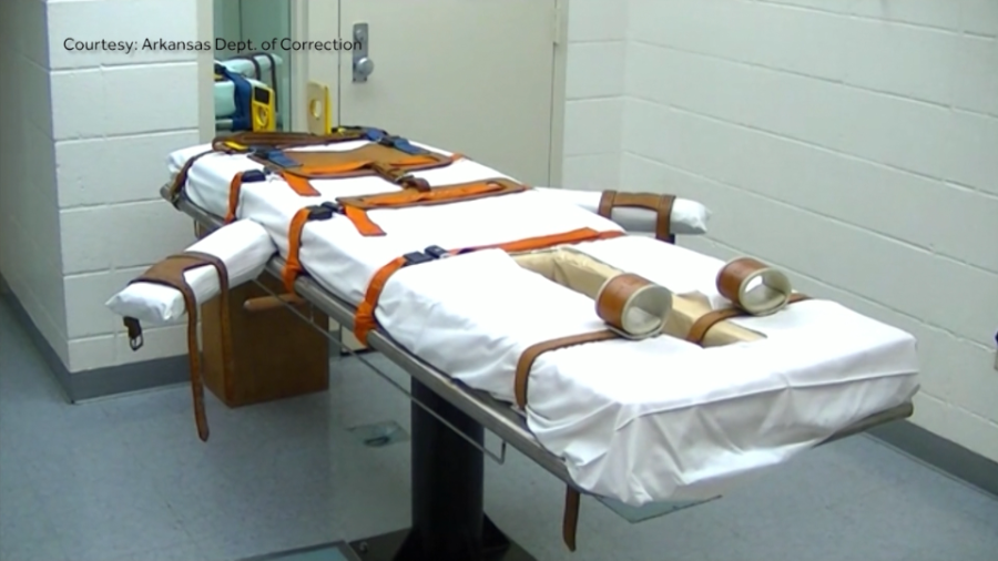 Arkansas' execution table
